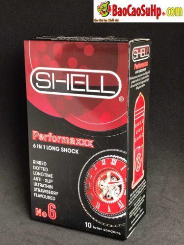 bao cao su shell 6in1 new 1 375x500 - Bao cao su Shell Prenium 6in1 (Siêu chất lượng)