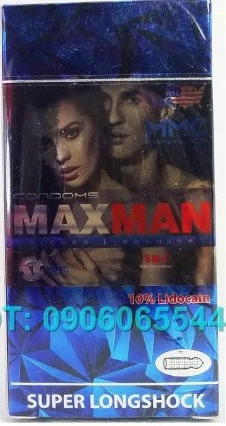 Bao Cao su Maxman 5in1 đẳng cấp mỹ