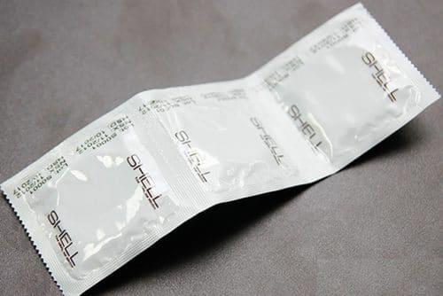 Bao cao su Shell Prenium 4 in 1 siêu mỏng , siêu dai