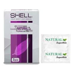 Bao Cao Su Shell SuperThin hộp 10 cái – Siêu mỏng