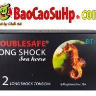 Bao cao su cá ngựa double long shock yêu lâu hơn