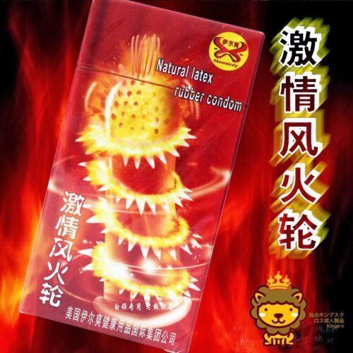 Bao cao su Super Gold Nhật (Siêu gân gai bi)