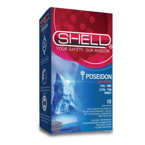 Bao cao su Shell Poseidon (Siêu mỏng thơm mát)
