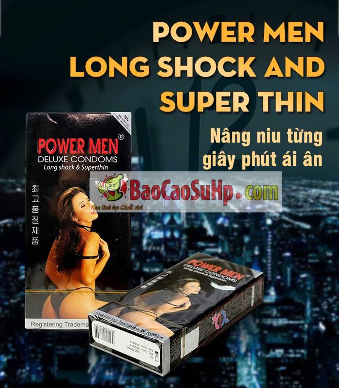 20171005102518 2051450 bao cao su power men super thin gia re hai phong 2 1 - Bao cao su Power Men 2 in 1 Super Thin (Siêu mỏng ,kéo dài)