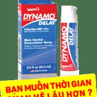 Chai xịt Dynamo delay kéo dài thời gian quan hệ nam