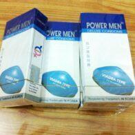 Bao cao su Power men Viagra sinh lực cho phái mạnh