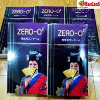Bao cao su Zero-O2 siêu mỏng giúp quan hệ cực sướng.