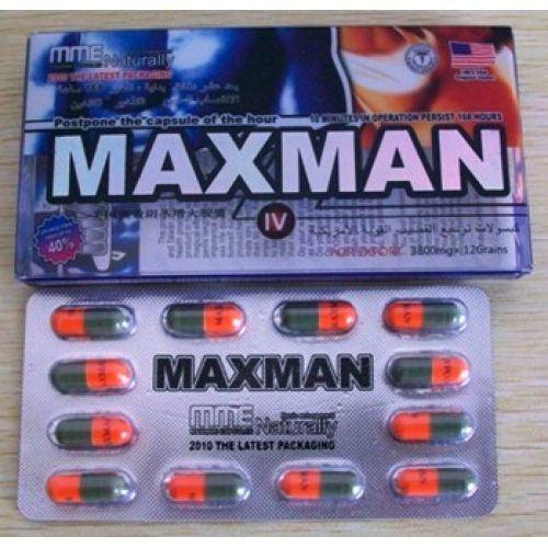 Thuốc cường dương thảo dược Maxman (12 viên nhộng)