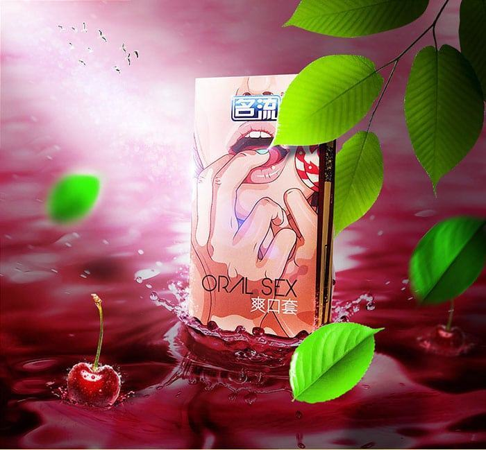 20180524210555 4273851 bao cao su quan he bang mieng cherry - Bao cao su cho quan hệ bằng miệng hương cherry