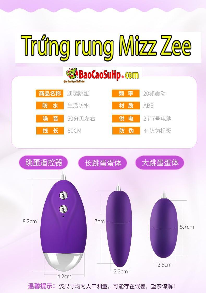 20180725180534 3106887 sextoy trug rung 20 che do rung mizz zee hai phong 2 - Sextoy Trứng rung 20 chế độ rung Mizz Zee