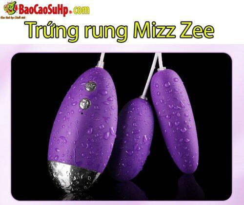 Sextoy Trứng rung 20 chế độ rung Mizz Zee