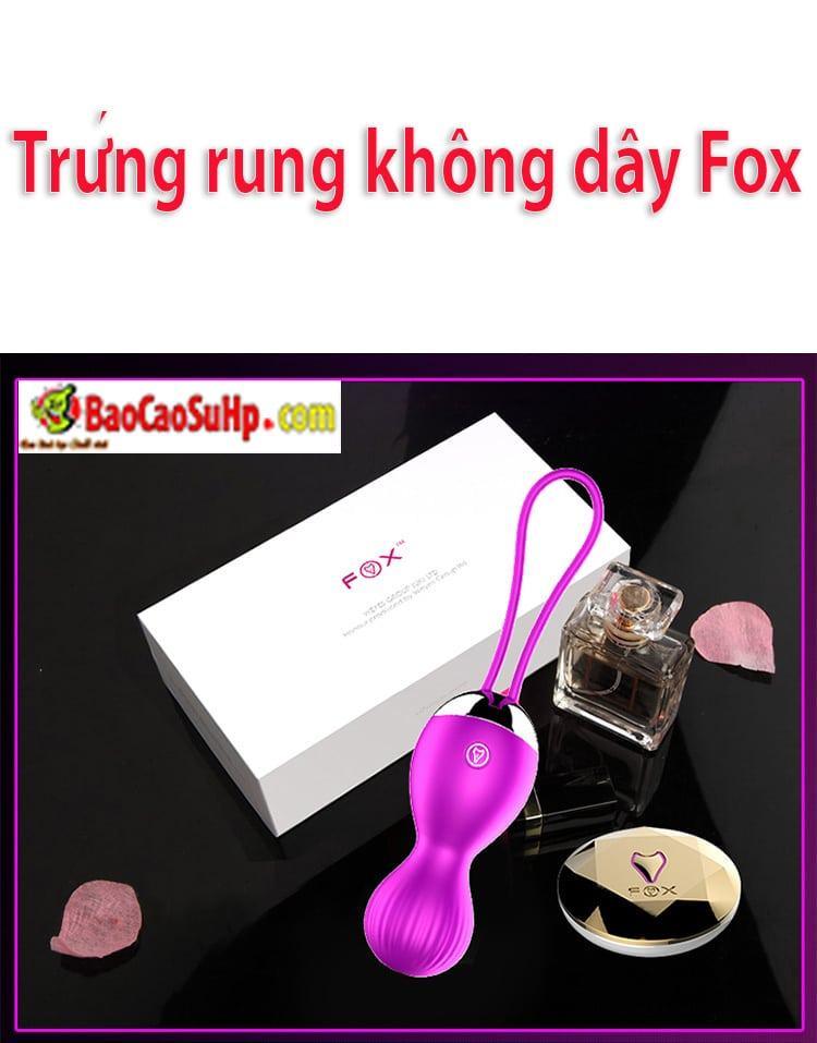20180810230321 7341367 trung rung cao cap khong day fox 17 - Sextoy Trứng rung không dây kích thích điểm G Fox