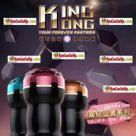 Sextoy âm đạo giả cao cấp 2 đầu King Kong Rends