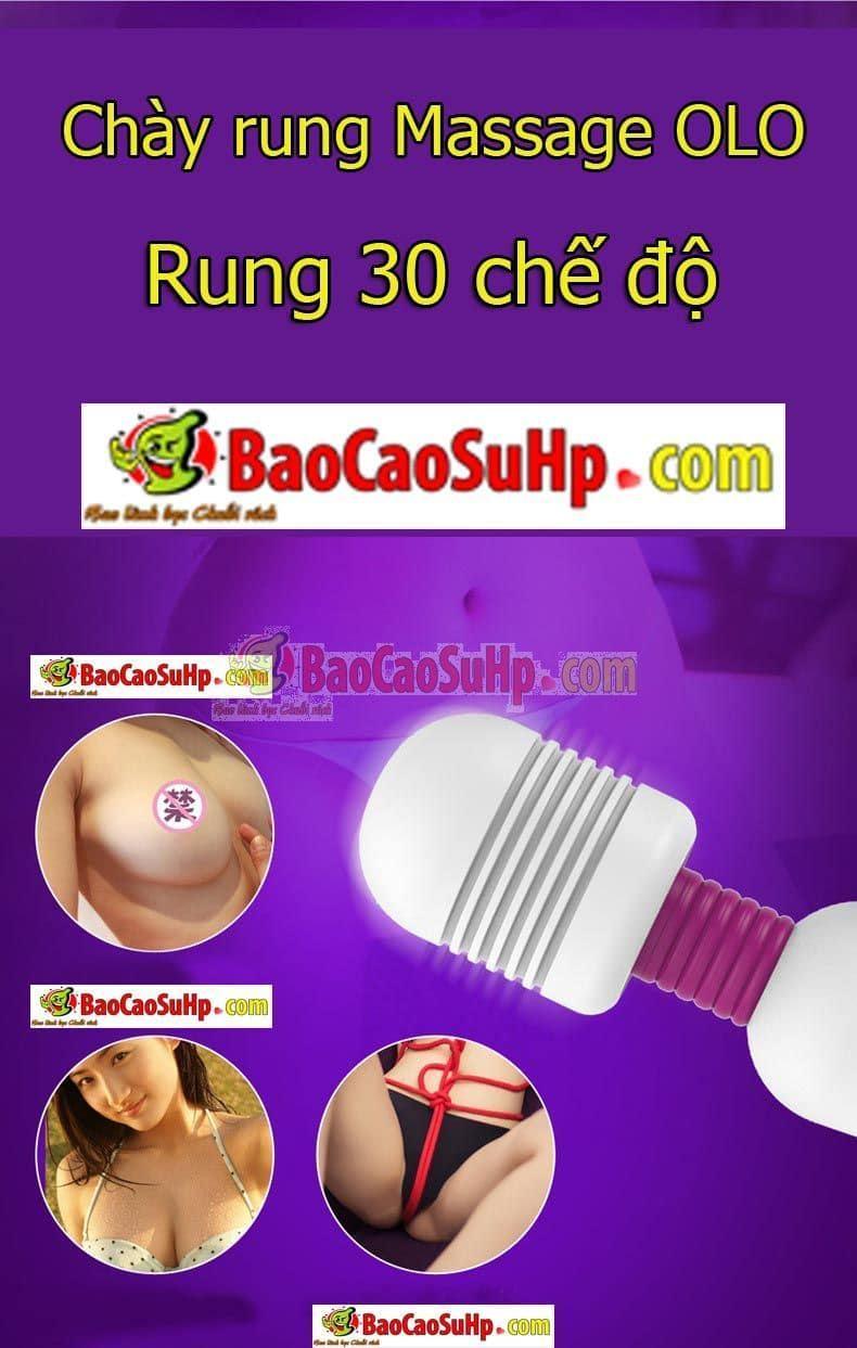 20180827225841 5365098 chay rung massage olo 30 che do rung - Chày rung massage OLO 30 chế độ rung
