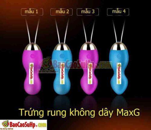 Sextoy trứng rung cao cấp không dây MaxG