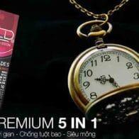Bao cao su Shell Prenium 5in1 (Siêu chất lượng)