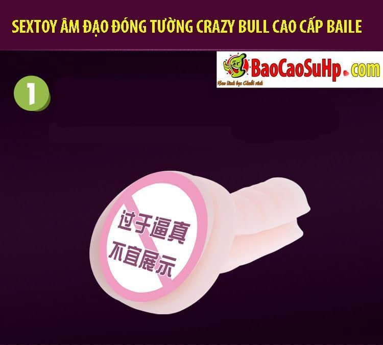 20181024170338 3434043 sextoy am dao dong tuong crazy bull baile 3 - Sextoy âm đạo đóng tường Crazy Bull cao cấp Baile