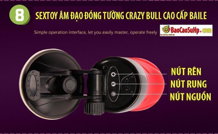 20181024170354 4774735 sextoy am dao dong tuong crazy bull baile 8 - Sextoy âm đạo đóng tường Crazy Bull cao cấp Baile