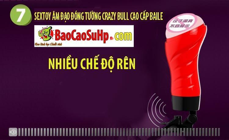 20181024170436 3232678 sextoy am dao dong tuong crazy bull baile 7 - Sextoy âm đạo đóng tường Crazy Bull cao cấp Baile