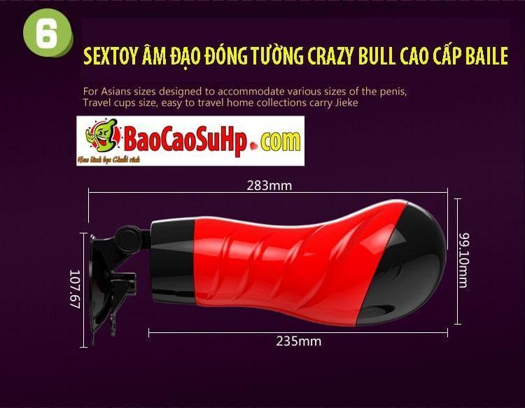 20181024170455 3169067 sextoy am dao dong tuong crazy bull baile 6 - Sextoy âm đạo đóng tường Crazy Bull cao cấp Baile