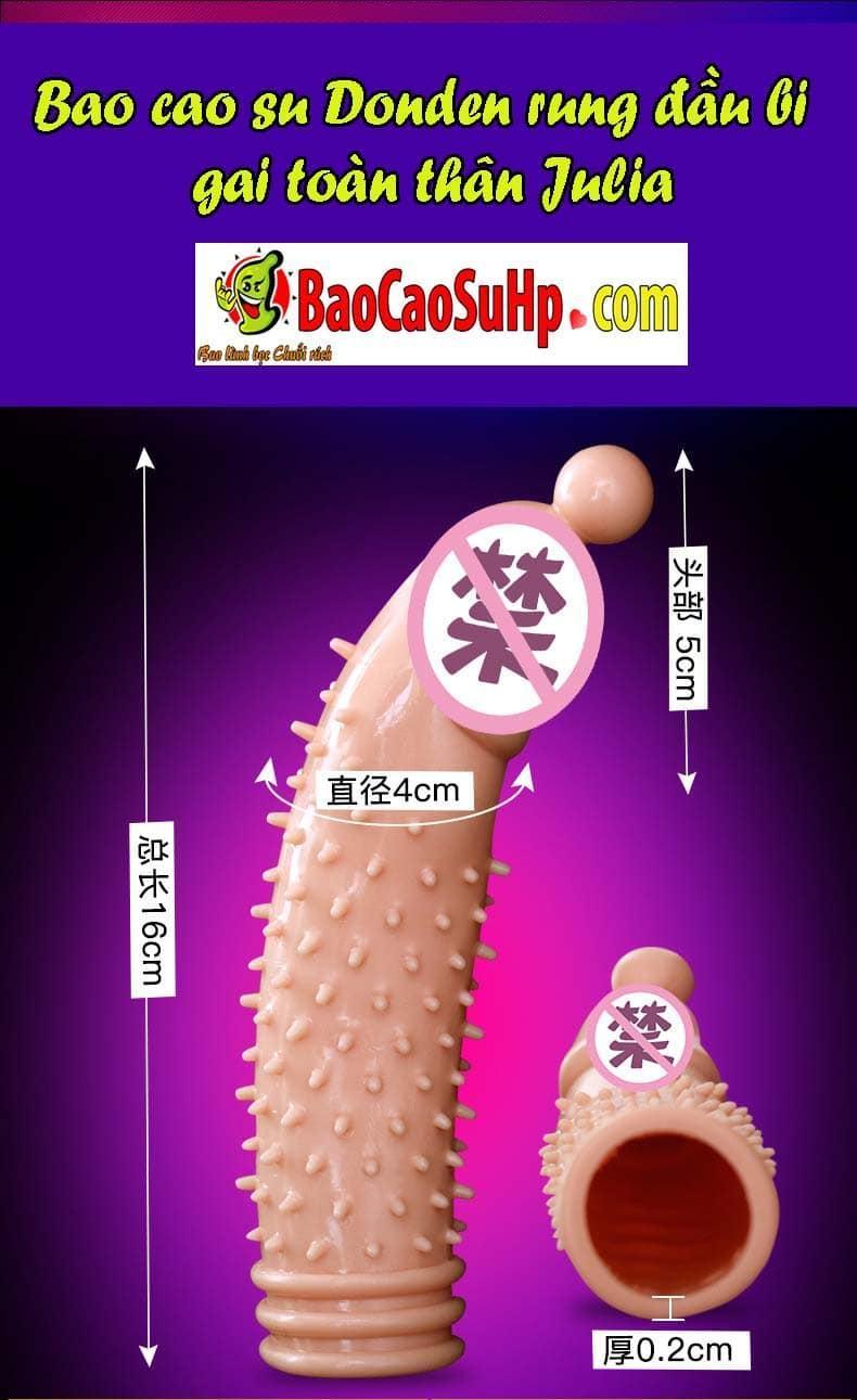 20181027223754 8755736 bao cao su donden dau bi gai julia - Bao cao su donden BigBaby siêu mềm bi rung đầu