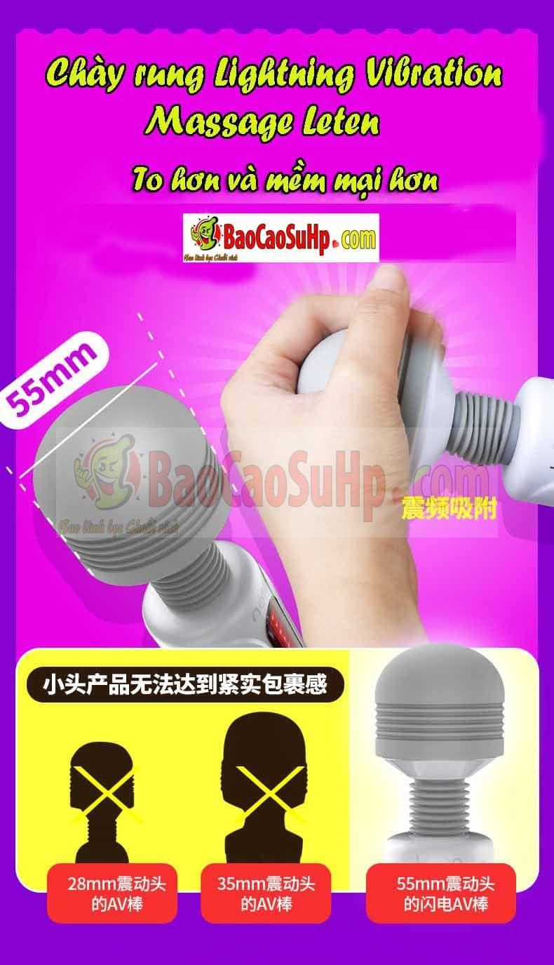 20181029221447 1728302 sextoy chay rung lightning vibration massage leten 3 - Sextoy chày rung Lightning Vibration Massage Leten