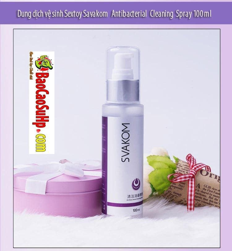 20181105224211 3302302 dung dich ve sinh sextoy savakom antibacterial cleaning spray 100ml 5 2 - Dung dịch vệ sinh Sextoy Savakom Antibacterial Cleaning Spray 100ml