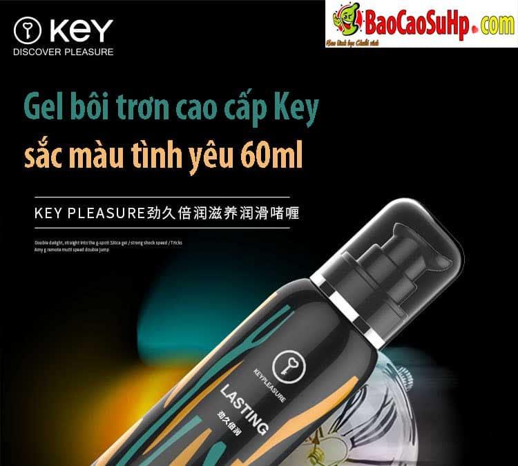 20181115224645 1270630 gel boi tron cao cap key - Gel bôi trơn cao cấp Key sắc màu tình yêu 60ml