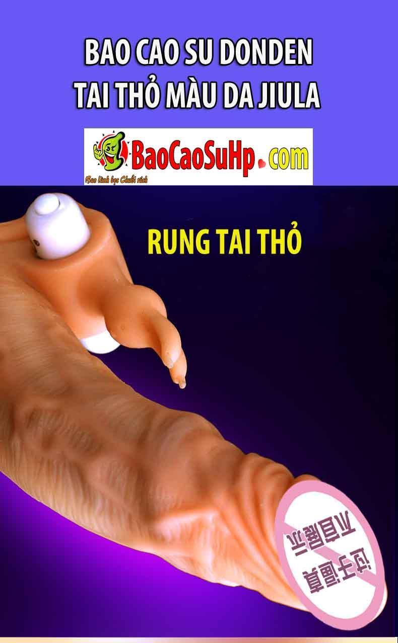 20181215140236 3387022 bao cao su donden tai tho rung jiula 3 - Bao cao su donden tai thỏ màu da Jiula