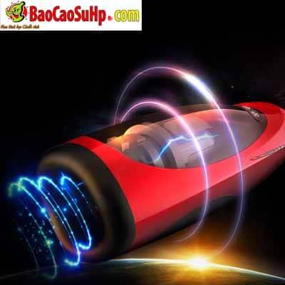 Âm đạo cầm tay cao cấp tự động Super Red