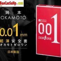 Bao cao su siêu mỏng Okamoto Zero 0,01mm