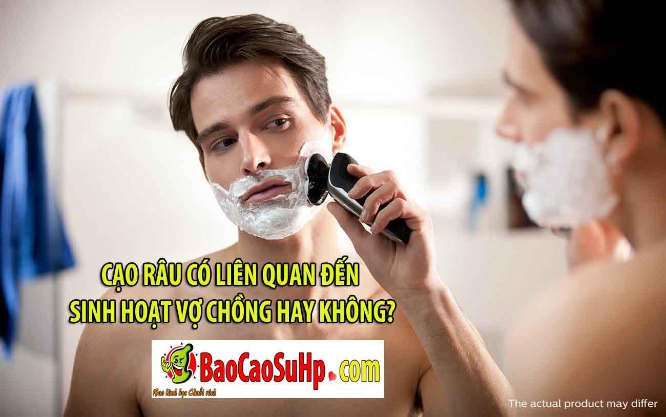20181229225152 4234126 cao rau co lien quan den sinh hoat tinh duc khong - Cạo râu có liên quan đến sinh hoạt vợ chồng hay không?