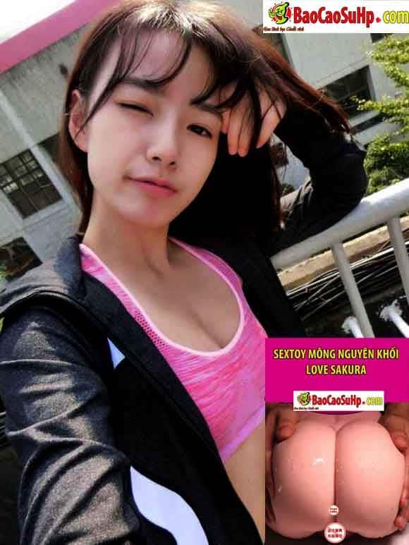 20190103165757 9035699 sextoy mong nguyen khoi love sakura model - Sextoy mông nguyên khối Love Sakura 2019
