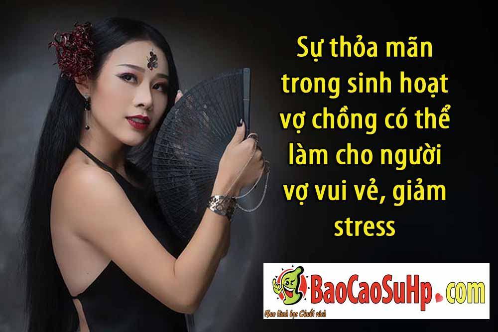 20190119170138 3101494 thoa man tinh duc lam vo hanh phuc - Sự thỏa mãn trong sinh hoạt vợ chồng có thể làm cho người vợ vui vẻ, giảm stress
