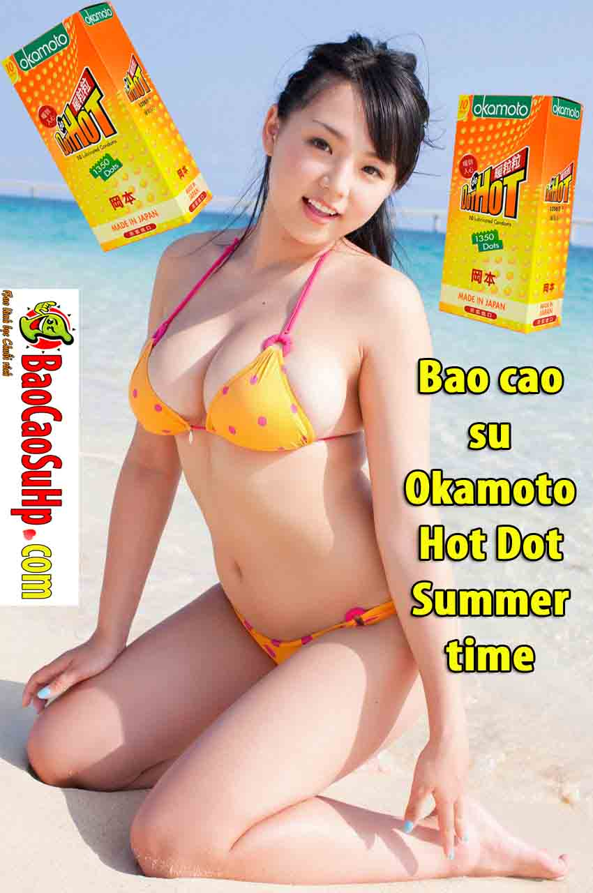 20190213200132 8283003 bao cao su okamoto hot dot 3 - Bao cao su Okamoto Hot Dot Summer time