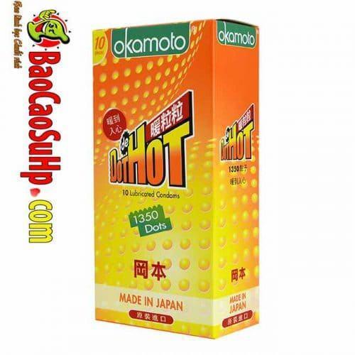 Bao cao su Okamoto Hot Dot Summer time