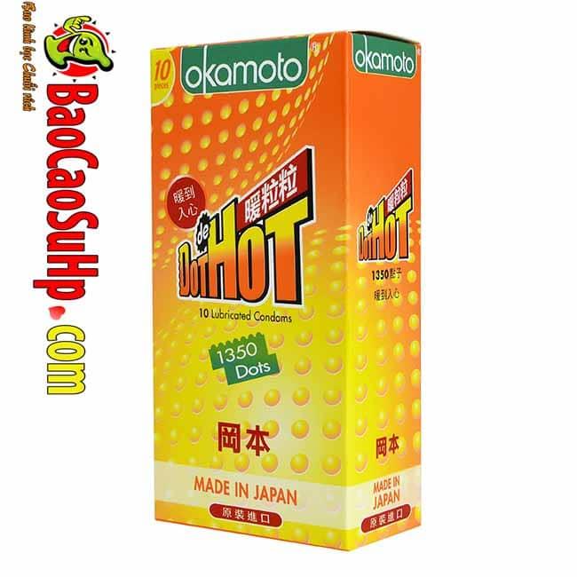 20190213200146 6143249 bao cao su okamoto hot dot - Bao cao su Okamoto Hot Dot Summer time