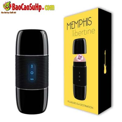 20190308102146 7175806 sextoy am dao black memphis bluetooth - Sextoy cốc âm đạo Black Memphis bluetooth