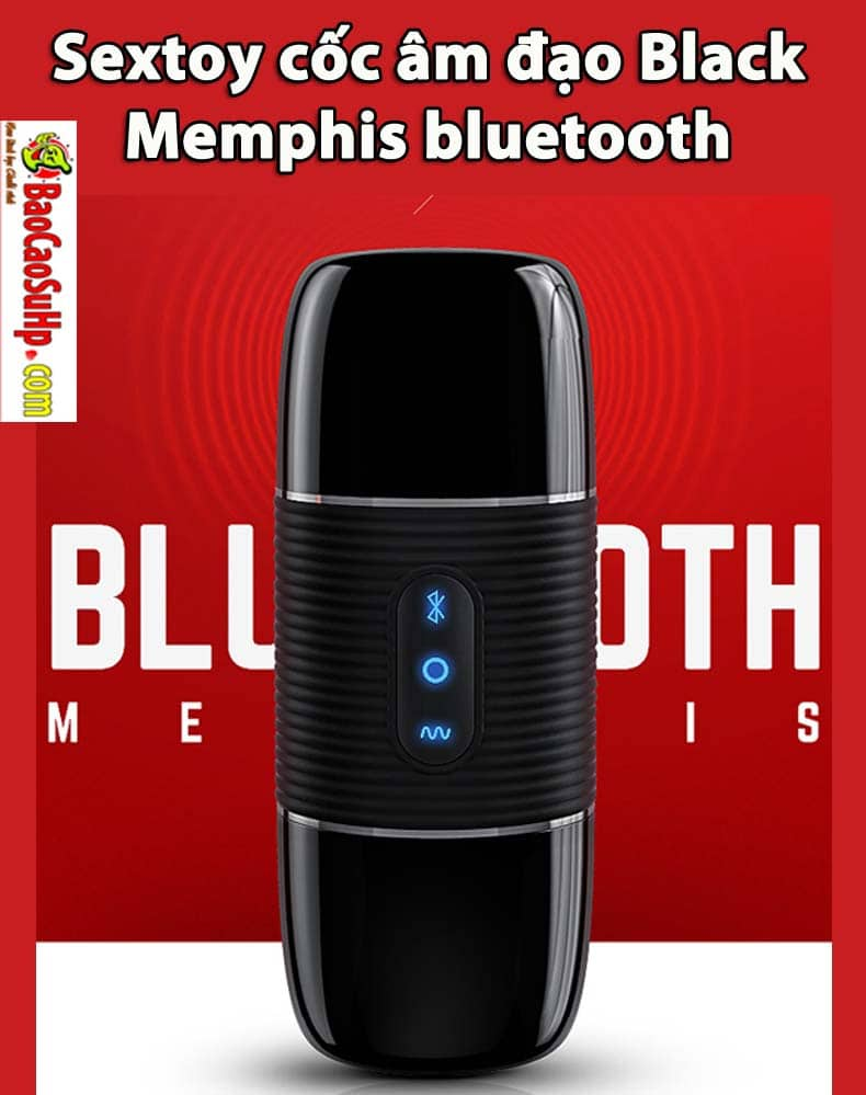 20190308103116 7203000 sextoy am dao black memphis bluetooth 1 1 - Sextoy cốc âm đạo Black Memphis bluetooth