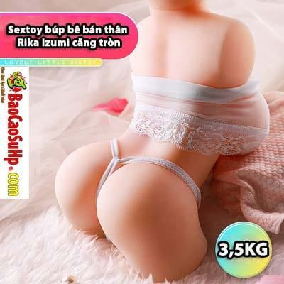 Sextoy búp bê bán thân Rika Izumi căng tròn