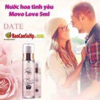 Nước hoa tình yêu Movo Love 5ml