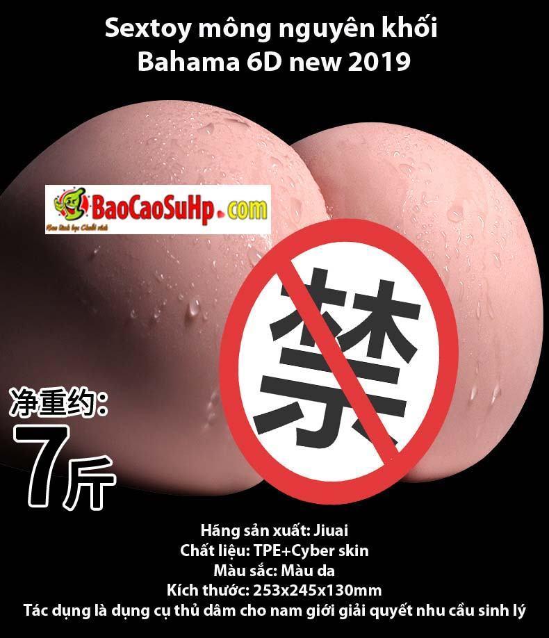 20190422170937 4207490 sextoy mong nguyen khoi bahama 6d new 2019 11 - Sextoy mông nguyên khối Bahama 6D new 2019