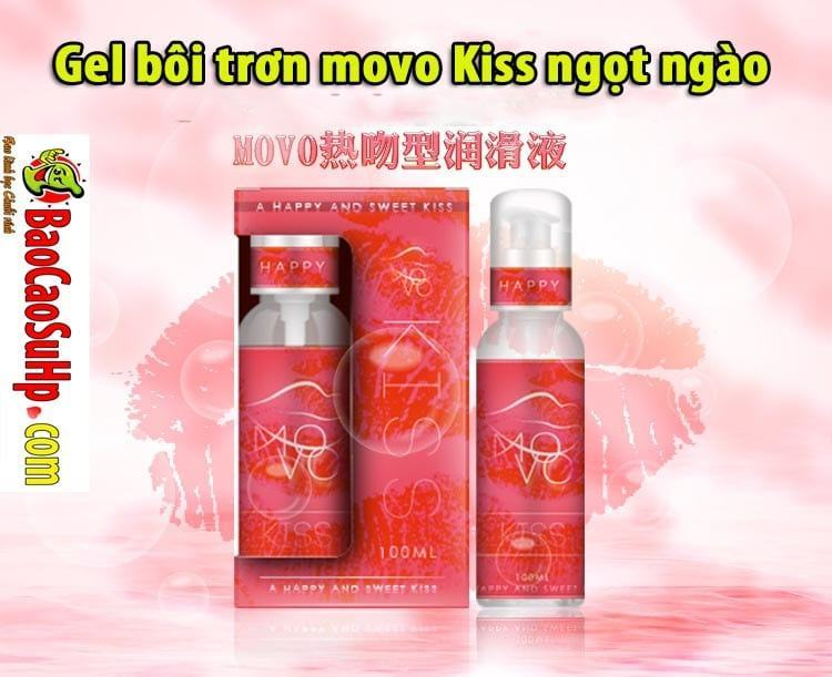 20190526105804 2482381 gel boi tron movo kiss ngot ngao 1 - Gel bôi trơn movo Kiss ngọt ngào hương vị tình yêu