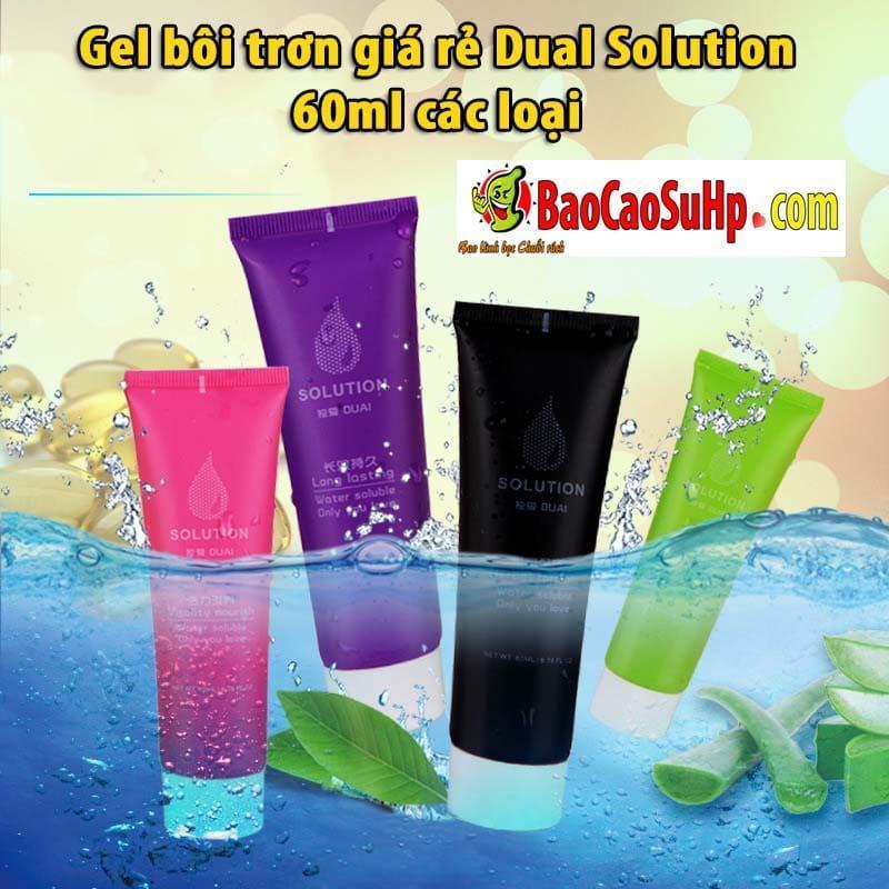 20190604225115 6489975 gel boi tron quan he dual solution 60ml 1 - Gel bôi trơn giá rẻ Dual Solution 60ml các loại
