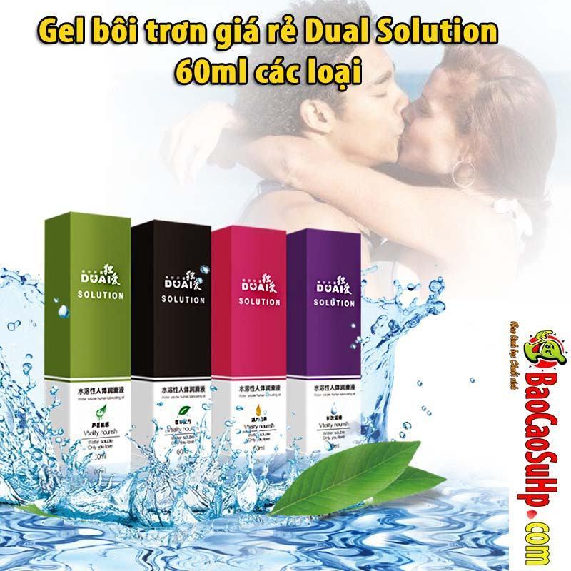 20190604225140 4732671 gel boi tron quan he dual solution 60ml 2 - Gel bôi trơn giá rẻ Dual Solution 60ml các loại