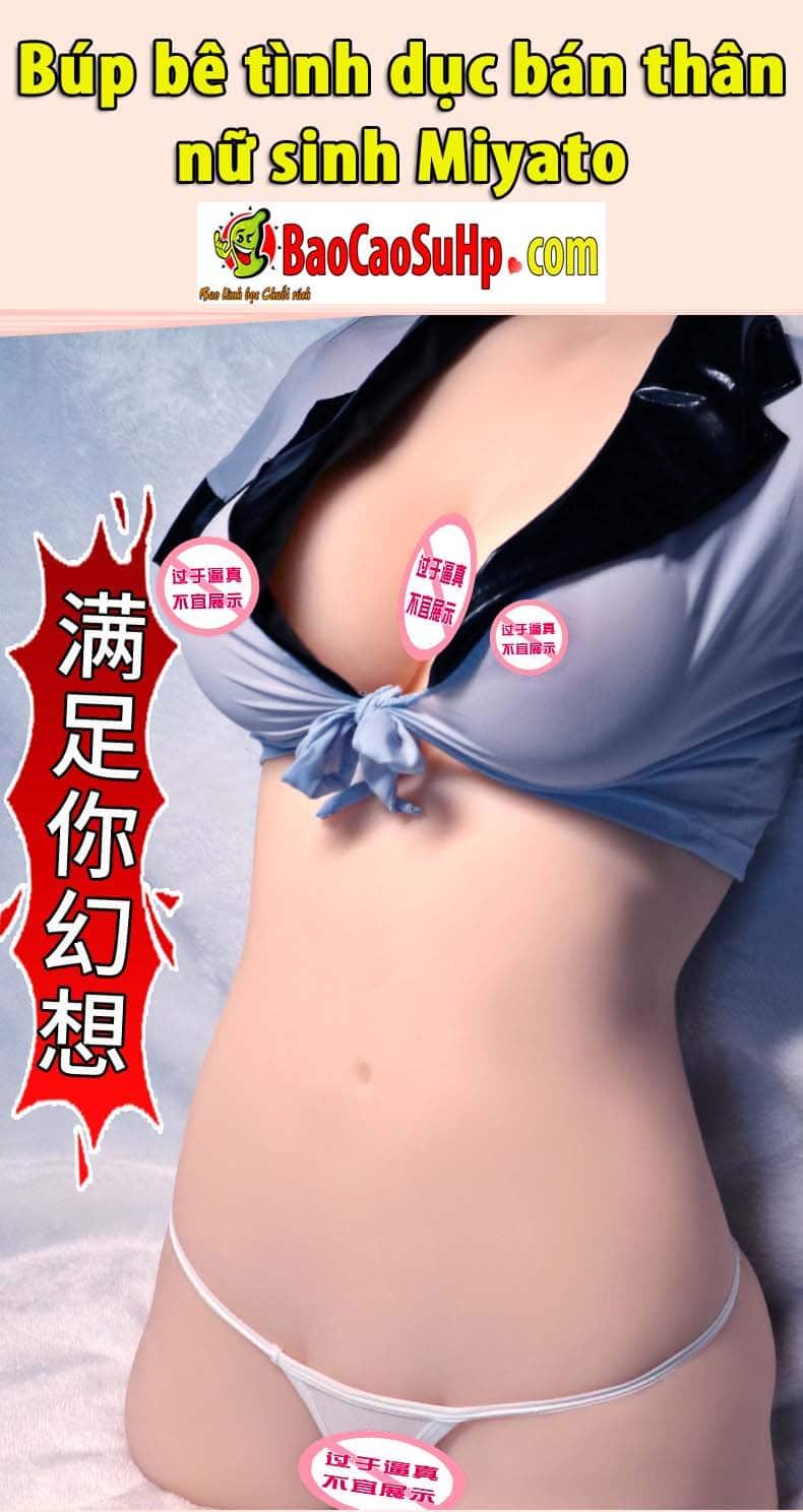 20190617223720 7032985 bup be tinh duc ban than nu sinh miyato 1 - Một số mẫu âm đạo và búp bê tình dục bán thân mới của hãng Jiuai