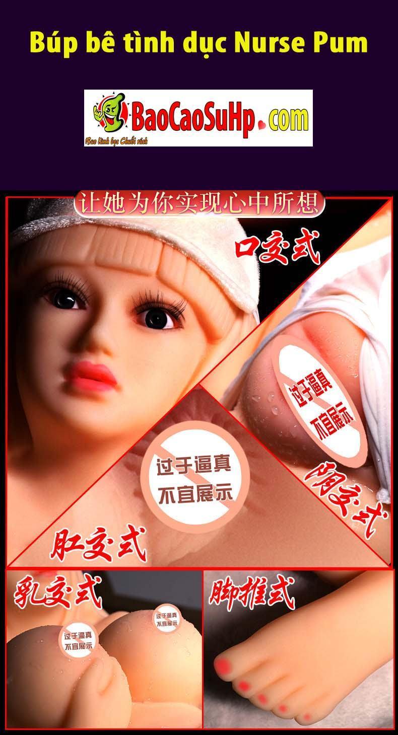 20190617224813 9147275 bup be tinh duc nurse pum 5 - Một số mẫu âm đạo và búp bê tình dục bán thân mới của hãng Jiuai