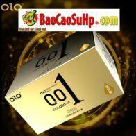 Bao cao su olo 0,01 gold gai gân siêu mỏng kéo dài phiên bản 2019