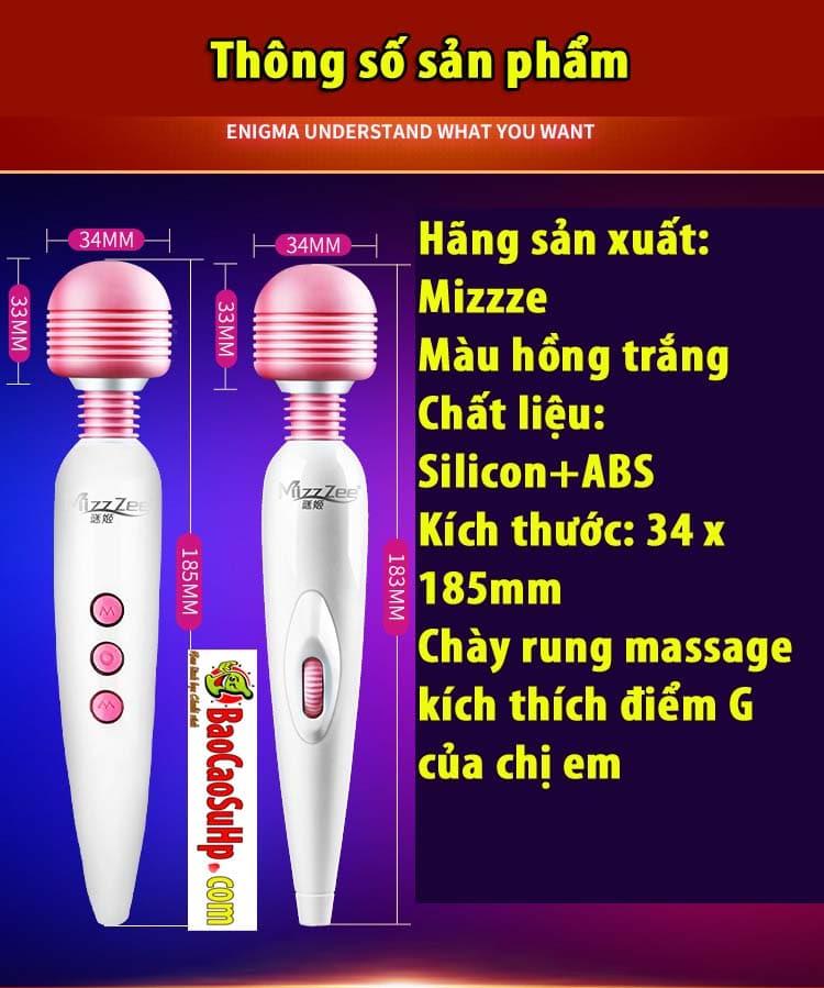 20190627214613 2591667 chay rung massage mizzze enima 360 9 - Chày rung massage Mizzze Enima 360 siêu rung nhỏ gọn