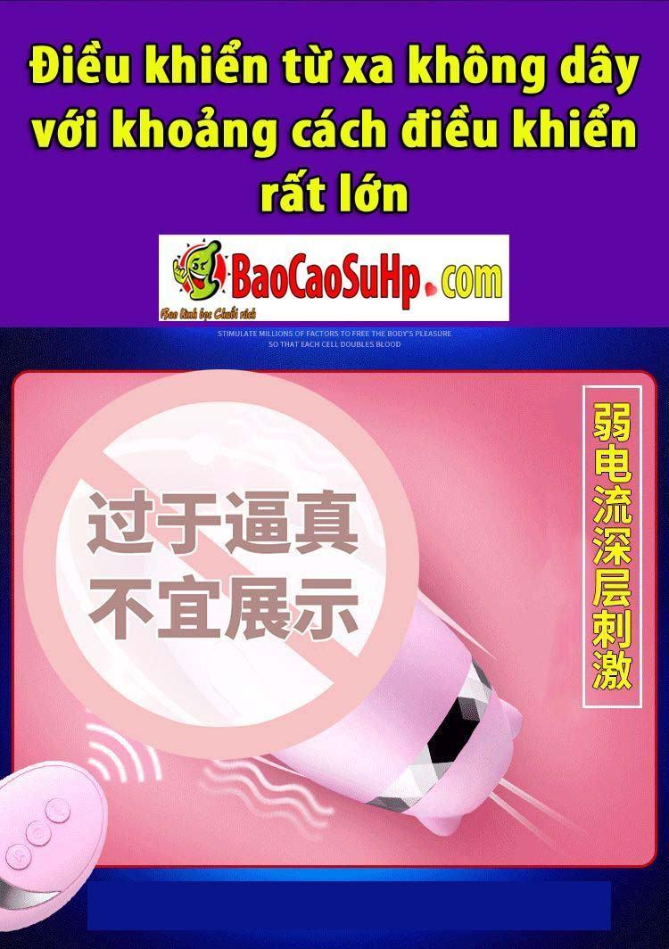 20190705234016 4128304 trung rung hummer lighting dien giat 2 - Trứng rung hummer lighting điện giật kích thích nữ cực khoái.